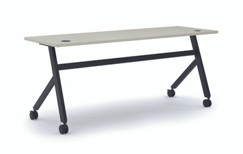 "Fixed Top 72"" Multi-Purpose Table, Grey"