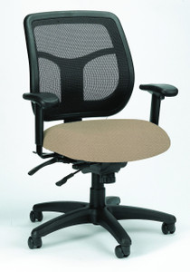 Apollo Multi-Function Upholstered Mesh Task Chair
