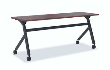 "Flip Top 72"" Multi-Purpose Table, Chestnut"