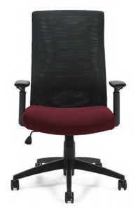 Mesh Back Executive shown in Pebbles Rhapsody