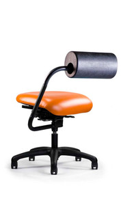 AbChair with Urethane AbRest and Upholstered Medium Seat; Canter Tango