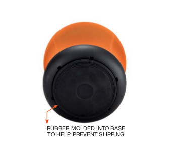 zenergy swivel ball chair with nonslip rubber base