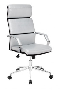 Lider Plus in Silver Leatherette