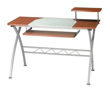 East Winds Vision Computer Desk In Medium Cherry Finish