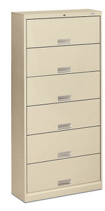 Brigade 600 Series Six Shelf Receding Door File