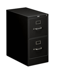 Hon 510 Series Two Drawer Vertical File, letter in Black (P)