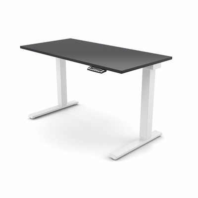 efloat sit stand adjustable height table - Adjustable Height Computer Desk
