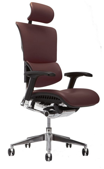 Brown Leather w/ Optional Headrest