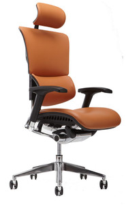 Cognac Leather w/ Optional Headrest
