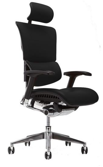 Black Leather w/ Optional Headrest