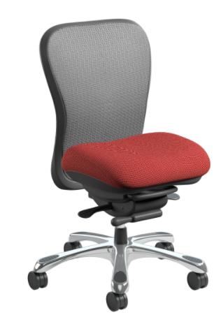 nightingale chairs cxo. nightingale cxo executive chair with optional silver mesh, burgundy seat, no arms and chrome chairs cxo