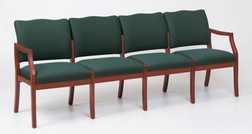 Franklin Wood 4 Seat Sofa
