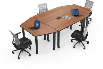 Modular Conference Room Tables Modular Conference Table - Desk with meeting table