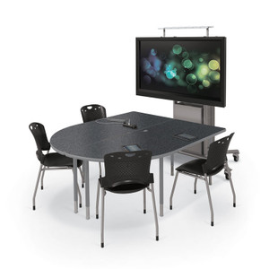 Multimedia Conference Table Balt Table OfficeChairsUSA - Multimedia conference table