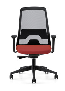 Every Swivel with 4d Armrests and mesh back