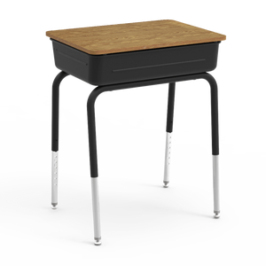 751 Series Student Desk with flip top