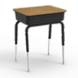 751 Series Student Desk with flip top