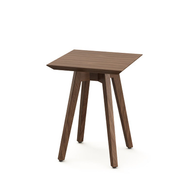 KnollStudio Jens Risom Square Side Table With Light Walnut Top And Base ...