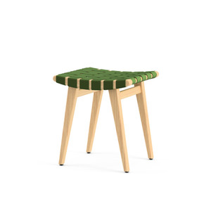 KnollStudio Jens Risom Child's Stool in Green