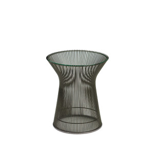 KnollStudio Platner Bronze Side Table Quickship
