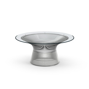 "KnollStudio Platner Nickel 36"" Coffee Table"