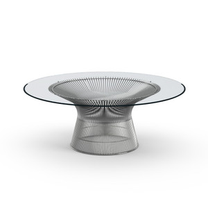 "KnollStudio Platner Nickel 42"" Coffee Table"