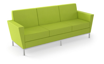 Venus Regular Profile Sofa in Expo Sprout