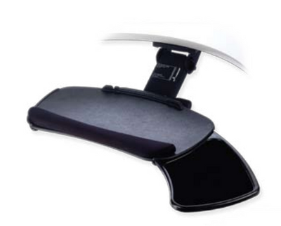 ovation extended arm curve keyboard tray - Keyboard Tray