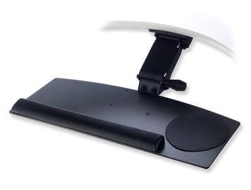 Rise Articulating Arm and Basic Extended Keyboard Tray