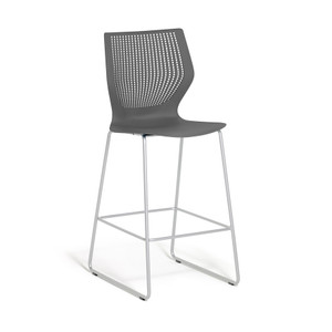 Knoll MultiGeneration Stool in Dark Grey