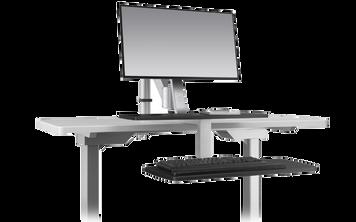 ESI Climb Desktop Single Monitor Arm