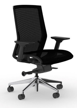zilo black frame and mesh seat conference task chair officechairsusa