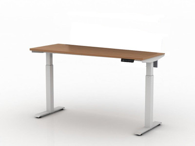 AMQ Activ-PRO Sit-Stand Electric Table Desk with 2 Stage Legs