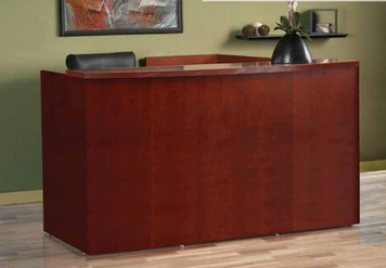 Luminary Wood Veneer Reception Suite