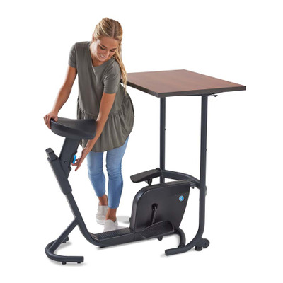 Lifespan Unity Bike Desk 7 Easy To Adjust Seat Heights