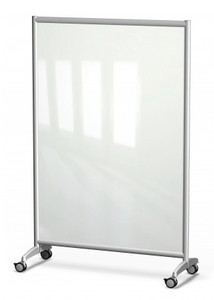 Symmetry Mobile Glass Dry Erase Whiteboard