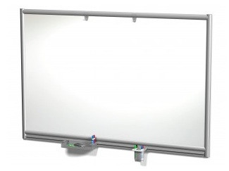 Symmetry Magnetic Dry Erase Wall Mounted Whiteboard