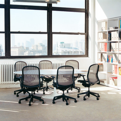 Knoll Chadwick Ergonomic Task Chair in conference room setting
