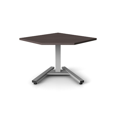 Symmetry Clarity   Single Leg Electric Sit Stand Table
