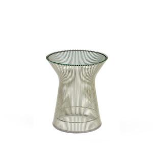 KnollStudio Platner Nickel Side Table Quickship