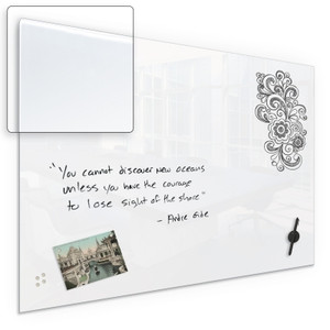 Luxe Magnetic Glass Dry Erase Board