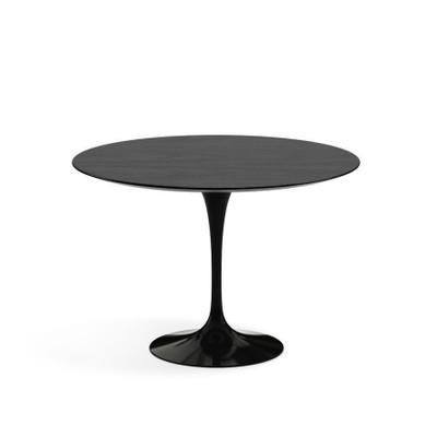 KnollStudio Eero Saarinen Round Dining Table OfficeChairsUSA - Walnut tulip dining table