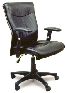 Mayline Mercado Leather 2528 Conference Chair