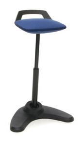 2800 Vivo Height Adjustable Perch Stool, blue
