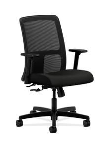 Ignition Mesh Low Back Task Chair Quickship, black