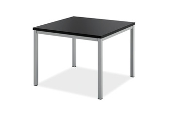 basyx by Hon Modern Corner Table, black laminate top (P)