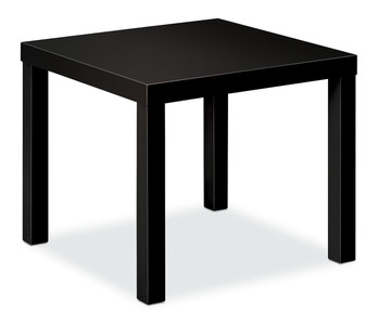 basyx by Hon Laminate Corner Table, Black P
