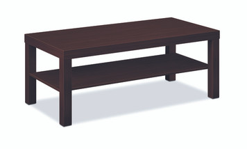 basyx by Hon Laminate Coffee Table, Mahogany N