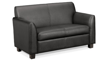 basyx by Hon Leather Lounge Loveseat