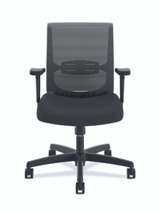 Hon Convergence Mid-Back with Swivel-Tilt Control, Black Fabric ACCF10